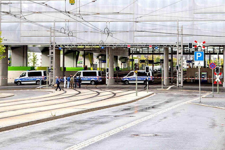 Mann verteilt Brennspiritus am Chemnitzer Hauptbahnhof: Festnahme!