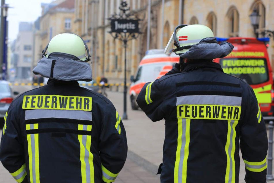 Die Feuerwehr rückte mit einem Großaufgebot zur Jugendherberge an (Symbolbild).