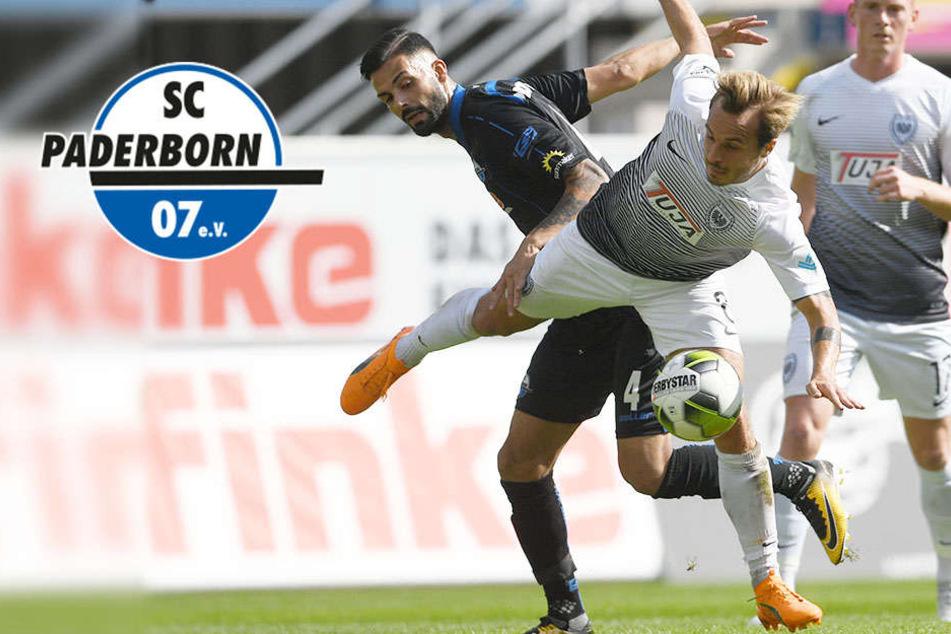 Trotz strittigem Elfmeter: Paderborn freut sich über den Sieg