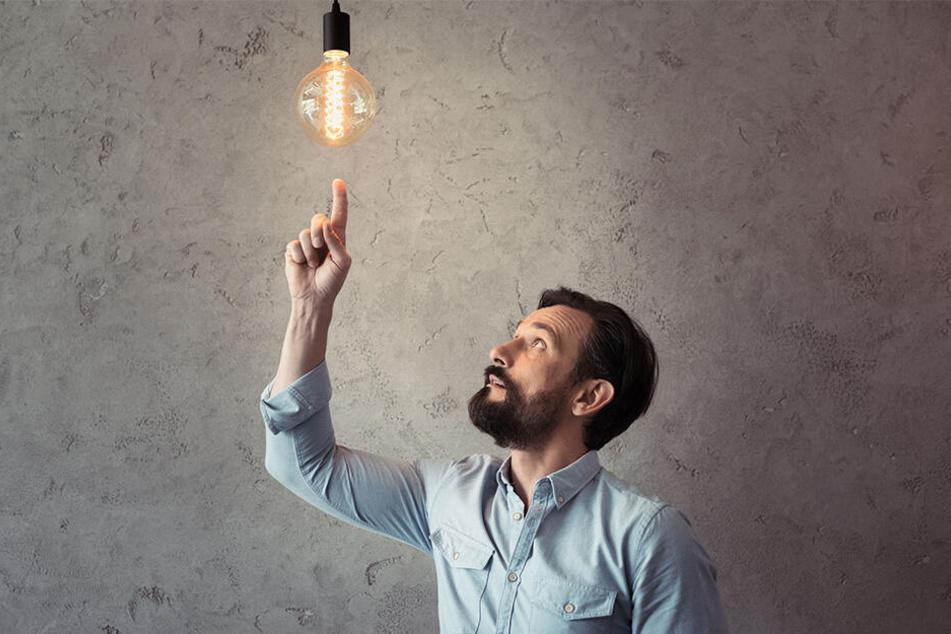 Alte Glühbirnen sind wahre Stromfresser.