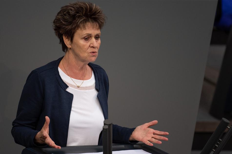 Die sächsische Bundestagsabgeordnete Sabine Zimmermann (60, Linke).