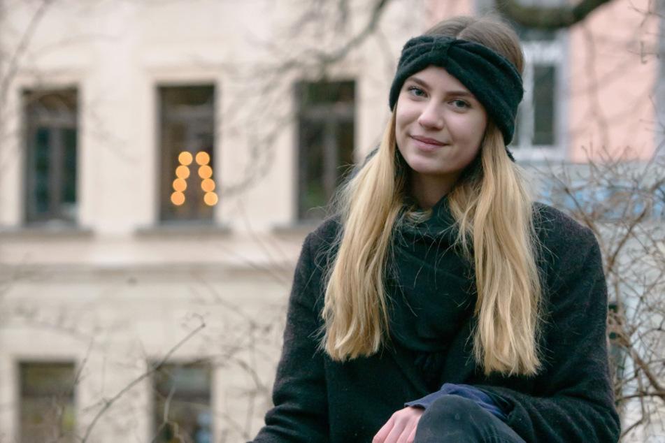"""Klimaaktivistin Victoria Teuchert (18) fordert: """"Kein Grad weiter!"""". Sie ruft am Freitag zur """"Fridays for Future""""-Demo in Chemnitz auf."""