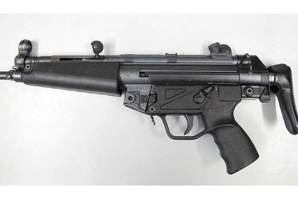 Nach dieser Waffe sucht die Polizei.