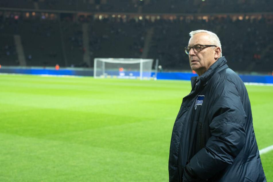 Werner Gegenbauer ist Präsident bei Hertha BSC.
