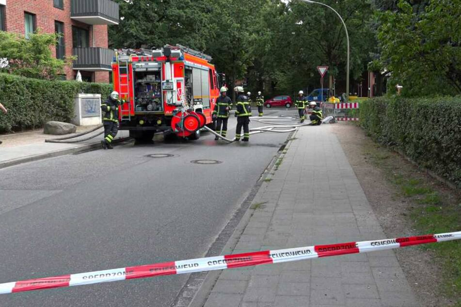 Alarm in Wohngebiet! Gas strömt aus defekter Leitung