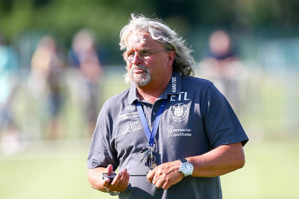 Der Leipziger Ex-Coach Heiko Scholz nahm die Punkte mit.