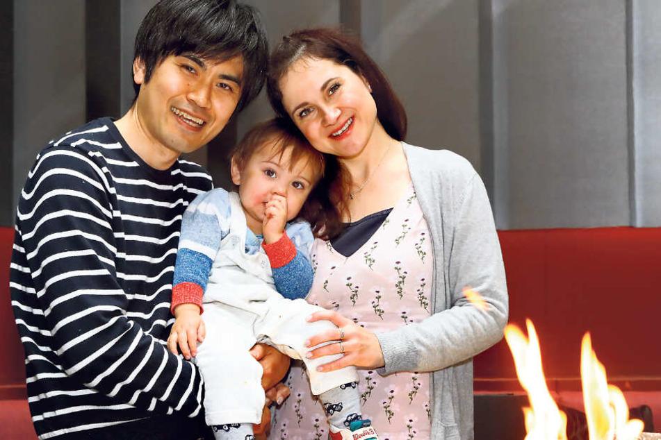 Einen Tag nach ihrem 35. Geburtstag wurde Mitsuki geboren: Diana Beier-Taguchi (36) und ihr Ehemann Souichirou (37) ließen den Kleinen kürzlich taufen.