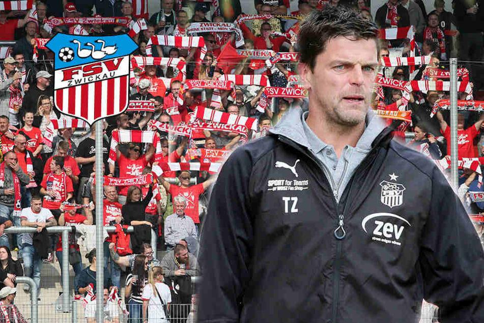 """FSV-Coach Ziegner stinksauer: """"Zuschauerzahl ist ein Witz"""""""