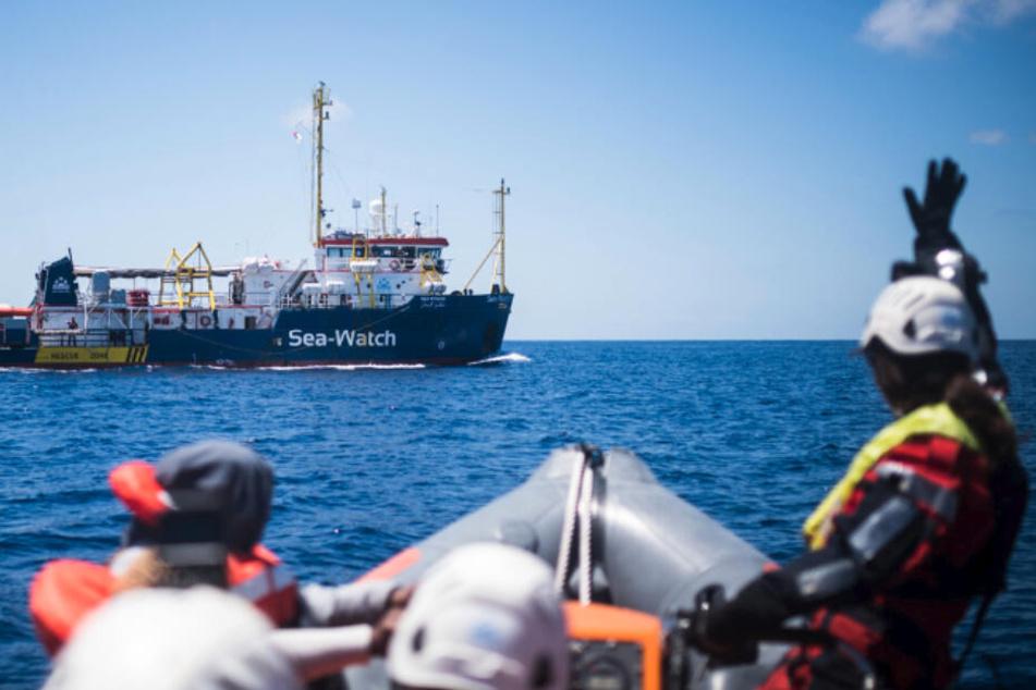 """Flüchtlinge in Not: Deutsches Schiff """"Sea-Watch 3"""" rettet 60 Menschen"""