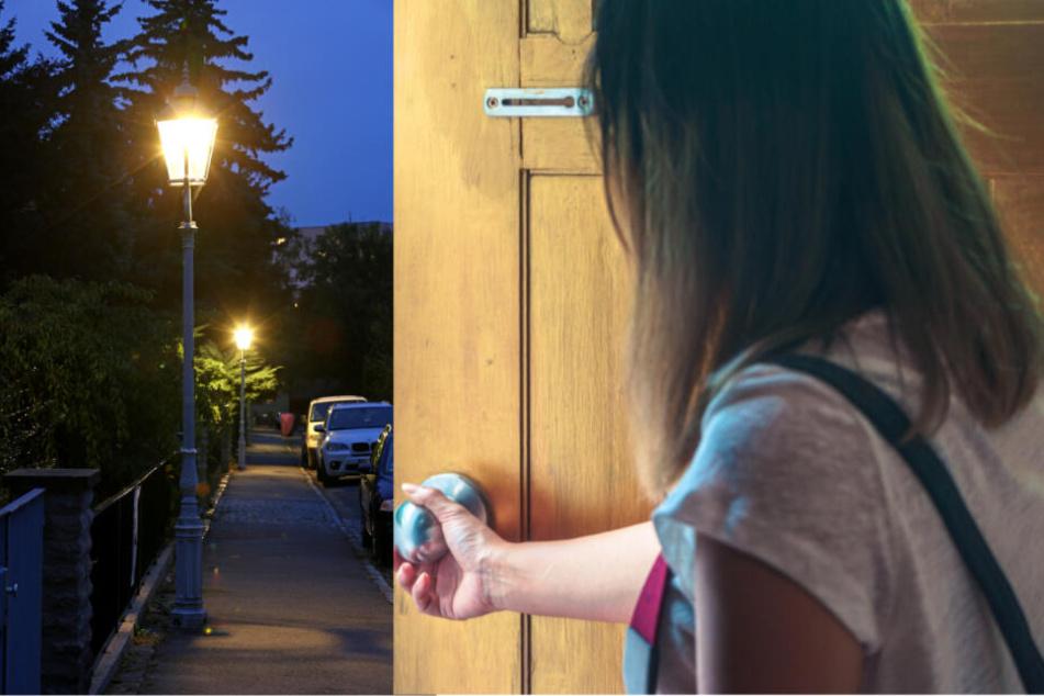 Dresden: Dresdnerin (21) will Haustür aufschließen und wird von hinten begrapscht