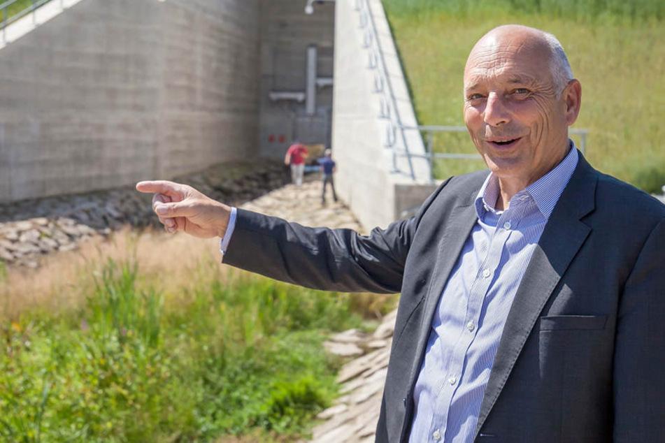 Heinz Gräfe (62), Geschäftsführer der Landestalsperren-Verwaltung.