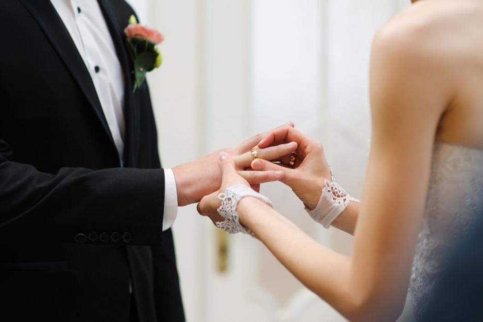 Den 8.8.2018 haben sich besonders viele Paare in Leipzig als Hochzeitstermin ausgesucht (Symbolbild).