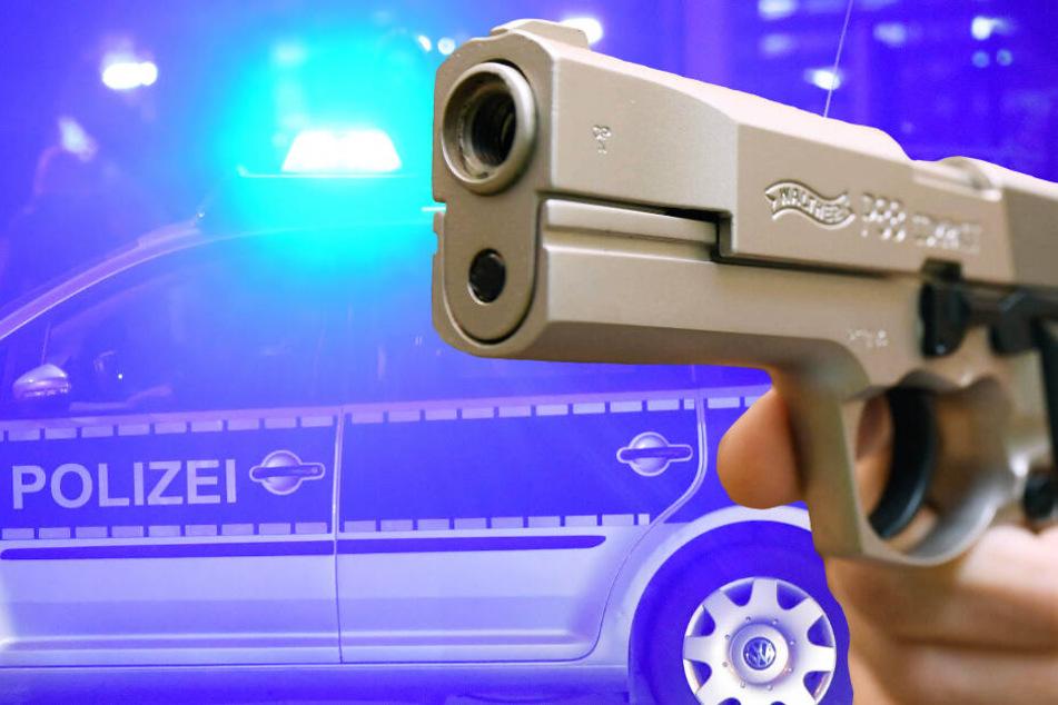 Die Täter hatten laut einem Polizeisprecher eine Schusswaffe bei sich (Symbolbild).