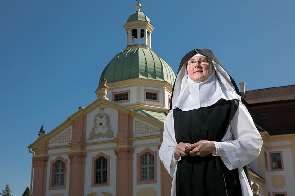Schwester Anna fand ihre Berufung als Braut Christi im Kloster St. Marienthal.