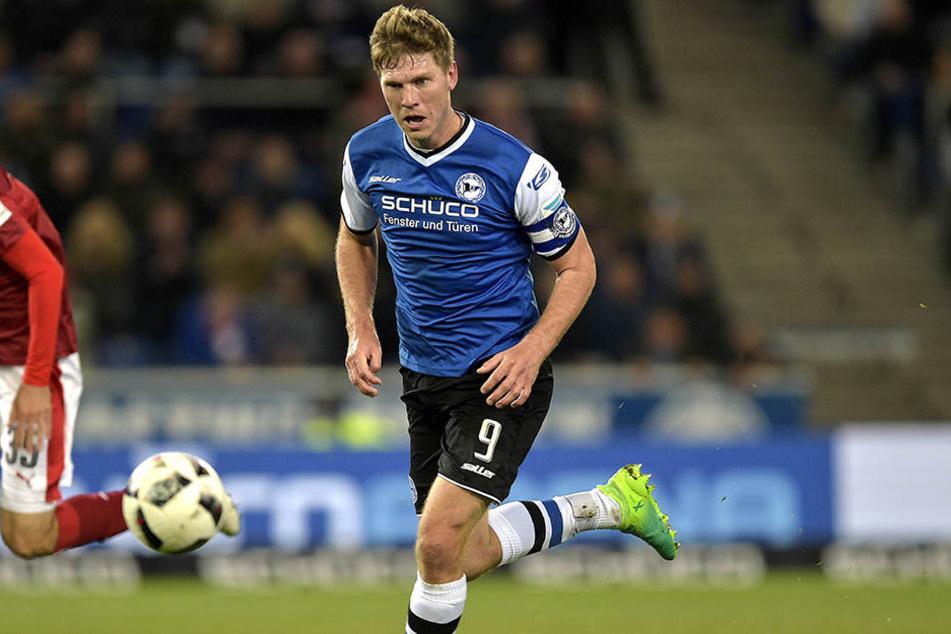 Fabian Klos (29) erzielte in der letzten Saison 13 Treffer für den DSC.