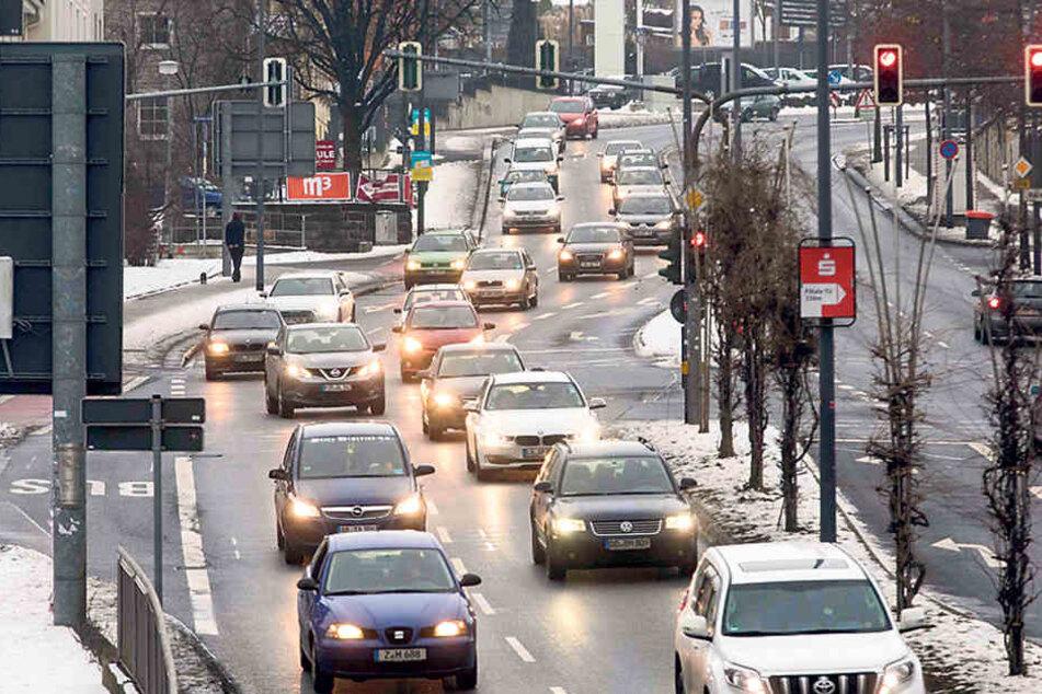 Die Sachsen fahren immer mehr mit dem Auto. Im Bundesvergleich erreichen sie überdurchschnittlich viele Kilometer.