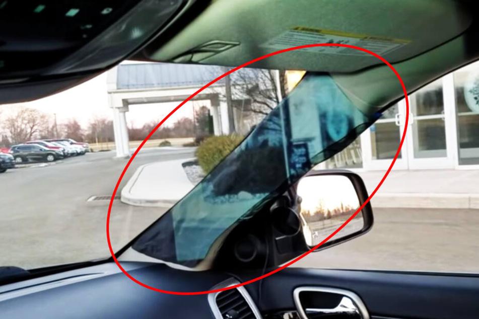 Preisverdächtig: 14-Jährige entwickelt einfache Lösung für Toten Winkel im Auto