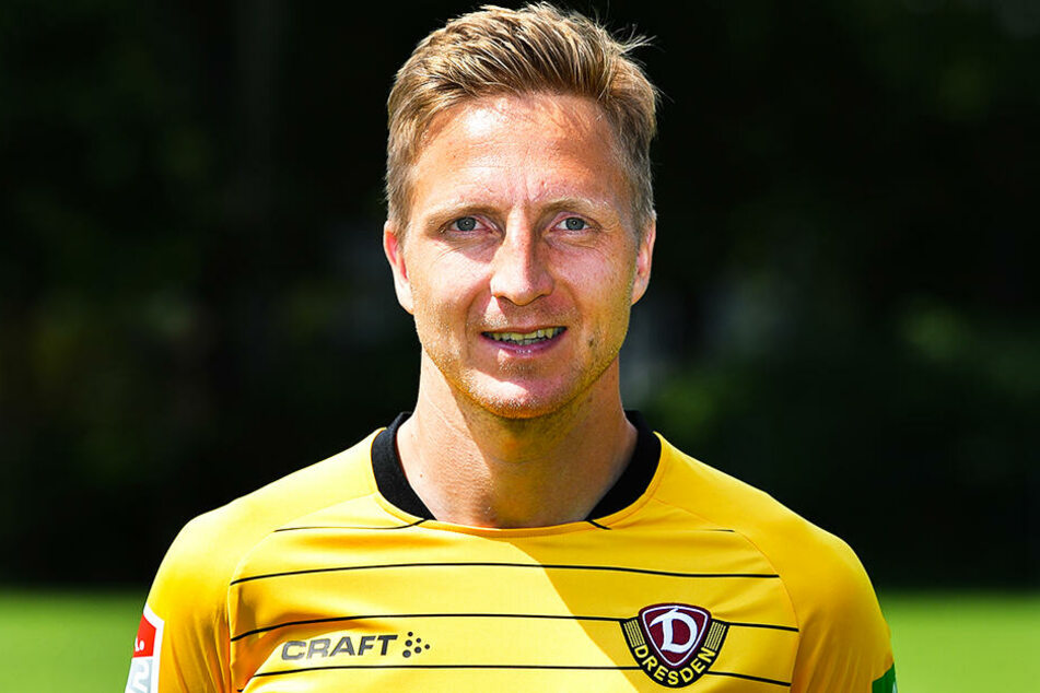 Einen Startelfeinsatz von Marco Hartmann schließt Dynamo-Coach Cristian Fiel noch aus..