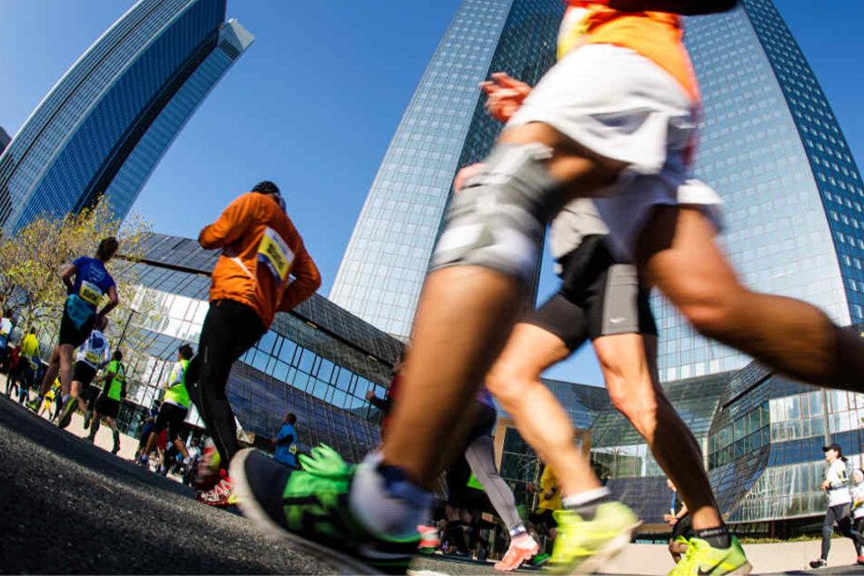 Der Frankfurt Marathon (Archivbild) ist der älteste City-Marathon Deutschlands.