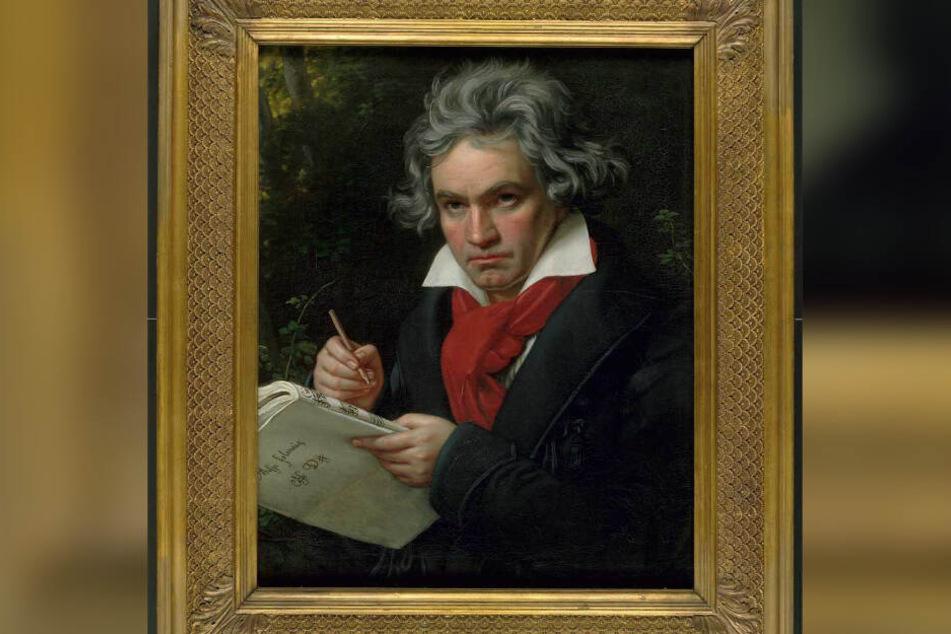 Die wohl berühmteste Abbildung von Ludwig van Beethoven ist dieses Porträt-Gemälde von Joseph Karl Stieler. Es stammt von 1820 und zeigt den Komponisten mit 49 Jahren. Beethoven kam 1770 in Bonn zur Welt und starb 1827 in Wien.