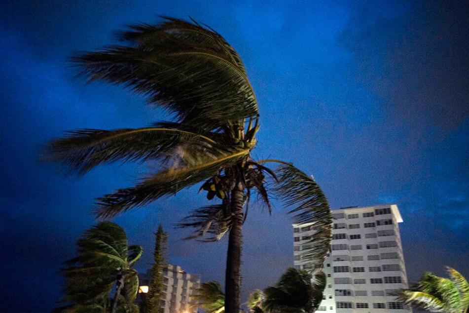 """Hurrikan """"Dorian"""" hat die nördlichen Inseln der Bahamas erreicht."""