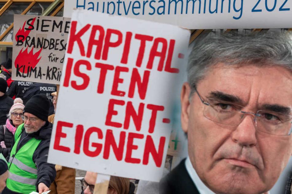 Umweltschützer setzen Siemens in München unter massiven Druck