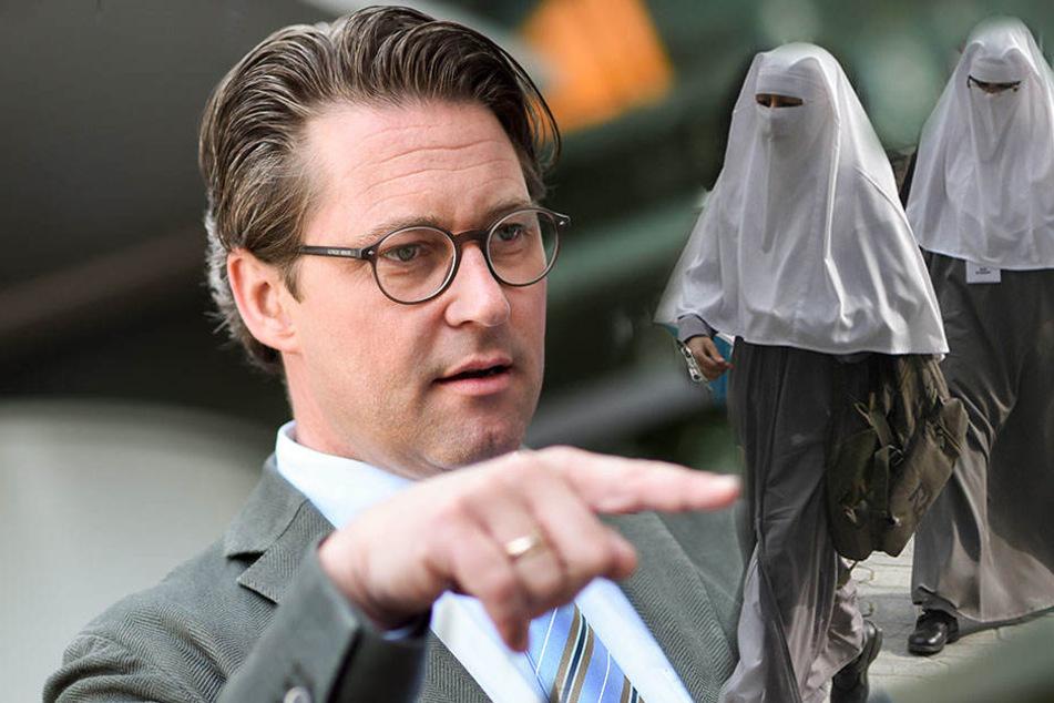 Andreas Scheuer (43) findet, dass Burkas nicht nach Deutschland gehören.