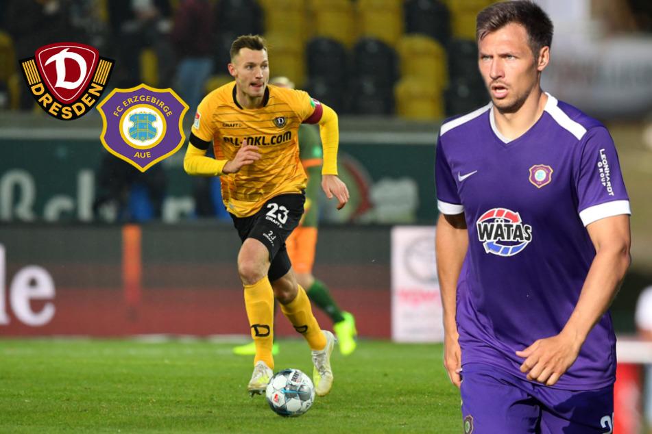 Dynamo gegen Aue: Ballas und Gonther sind trotzdem ziemlich beste Freunde