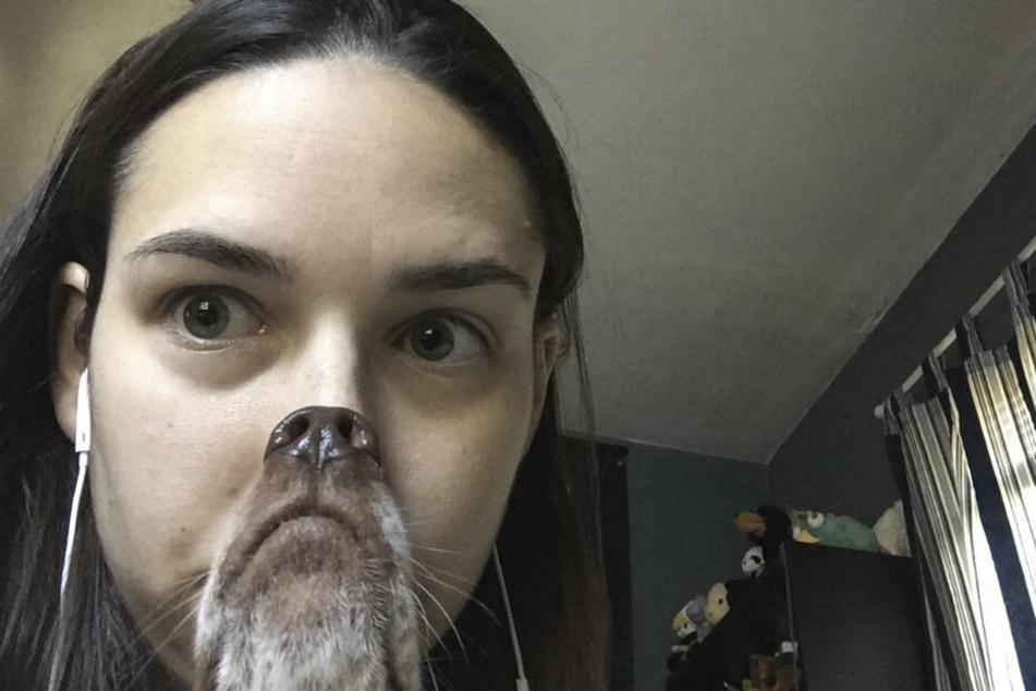 Dieses Selfie ging auf Reddit viral. Ein echter Schnappschuss...