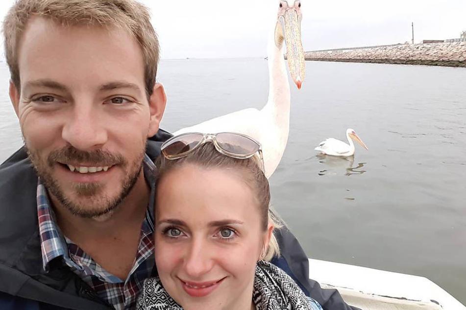 Gerald und Anna: Erst kam ein Pelikan. Kommt jetzt der Storch?