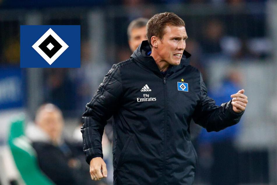 HSV-Trainer Wolf besetzt gegen Regensburg seine Außen neu