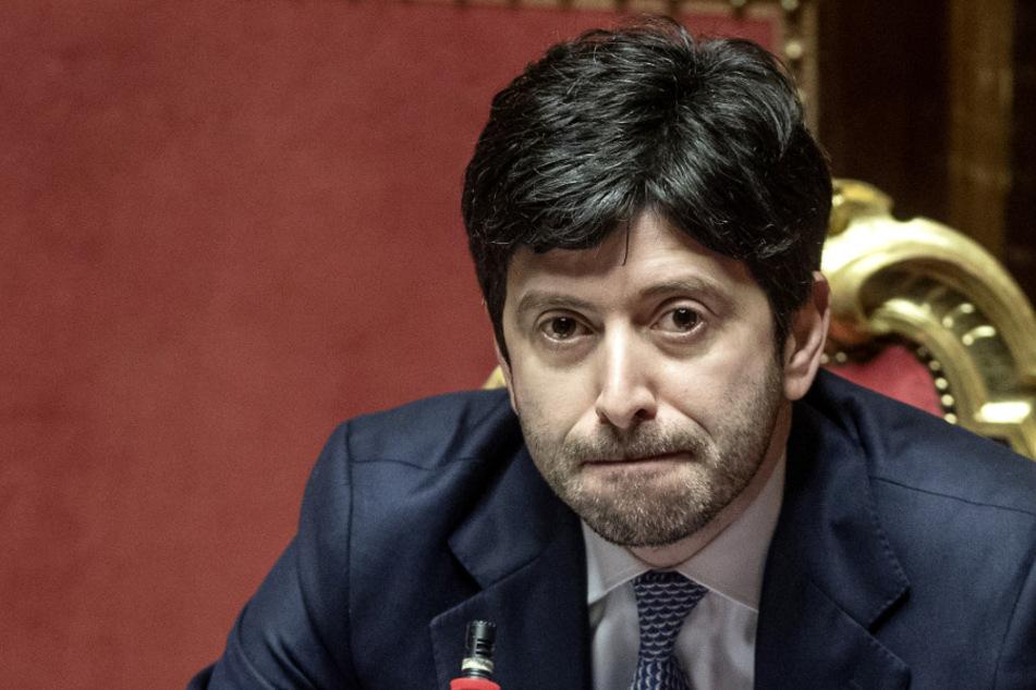 Der italienische Gesundheitsminister Roberto Speranza (41). Archivbild)