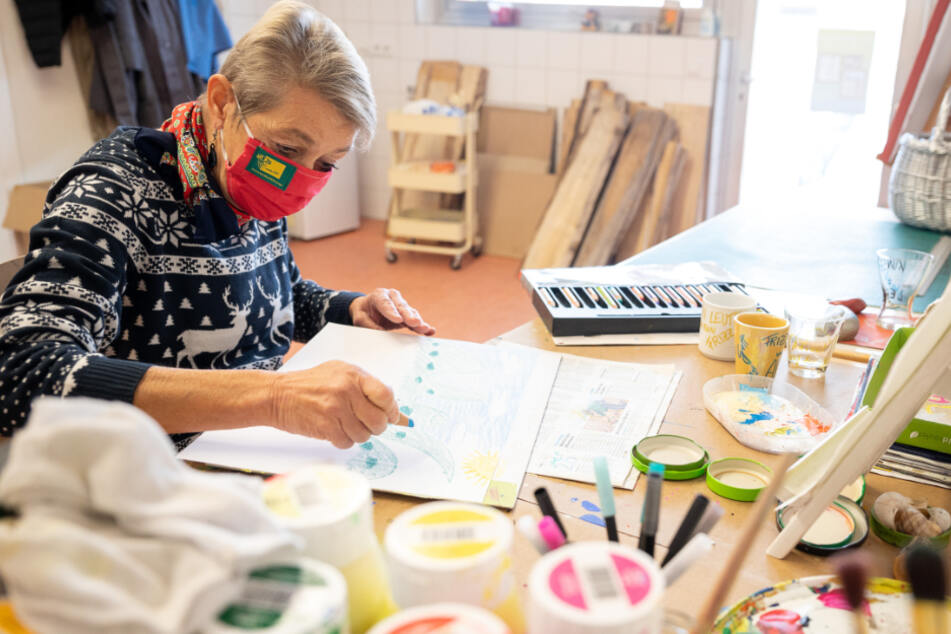 Erstmals in Deutschland! Schau zeigt Kunst von Menschen mit geistigen und psychischen Behinderungen