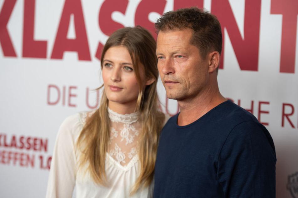 """Til Schweiger mit Tochter Lilli bei der Premiere von """"Klassentreffen 1.0"""" in Hamburg."""