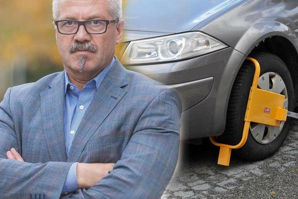 Falschparker aufgepasst: Chemnitz fährt die Krallen aus!