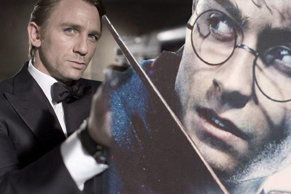 Harry Potter will jetzt gegen James Bond kämpfen