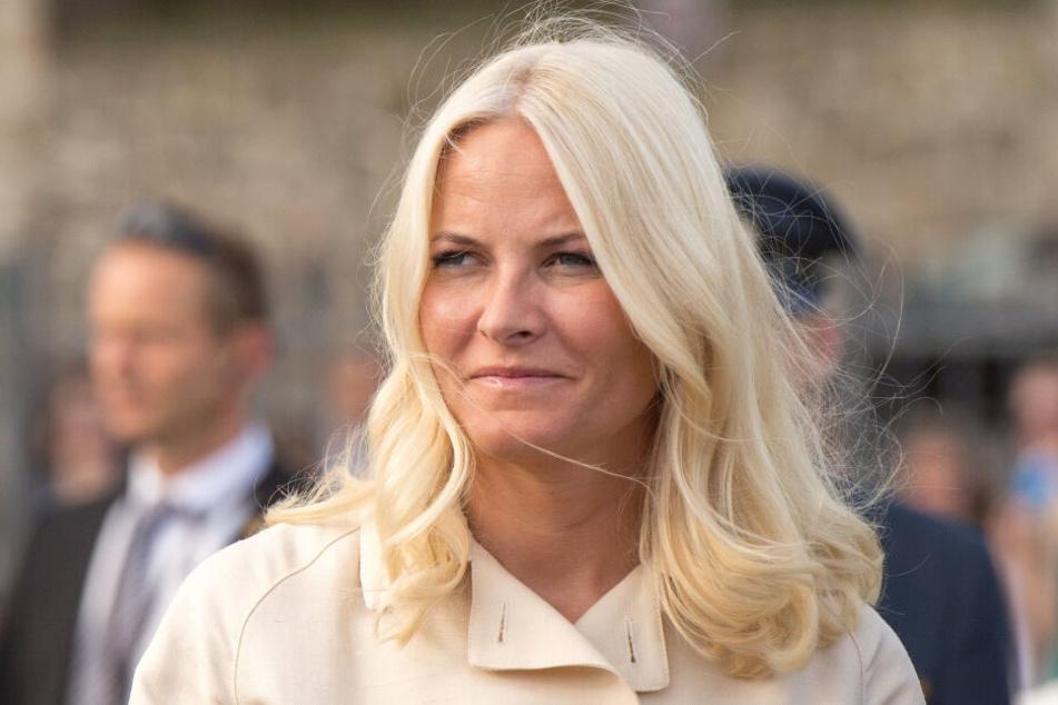 Die norwegische Kronprinzessin Mette-Marit.