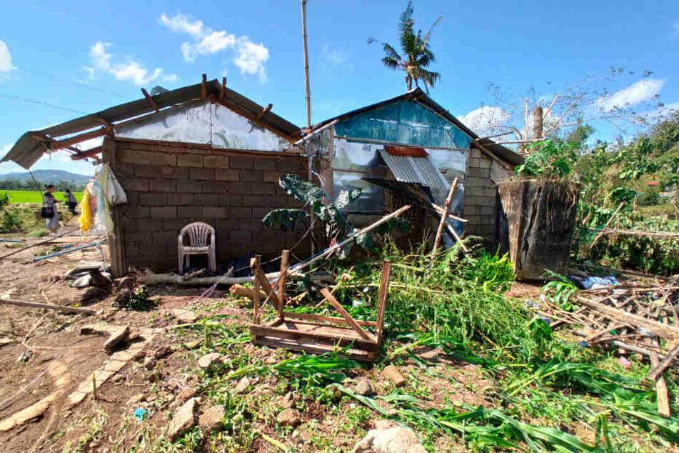 """Taifun """"Phanfone"""" hinterließ Spuren der Verwüstung."""