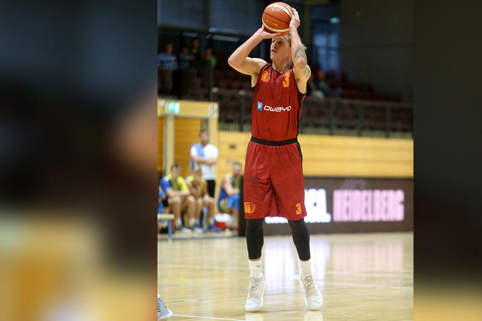 Malte Ziegenhagen ist der neue Niners-Kapitän und will die Chemnitzer in den Play-offs der ProA führen.