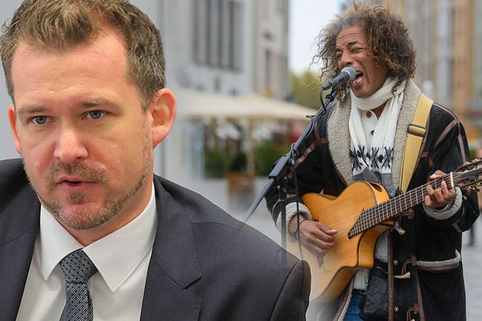 Zoff mit Dresdens Straßenmusikern: Rathaus denkt über Verbote nach