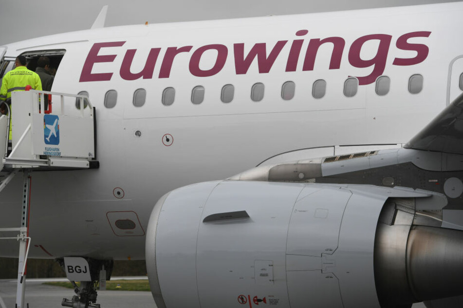 Eine Eurowings-Maschine aus Hamburg musste wegen Rauchentwicklung umkehren.