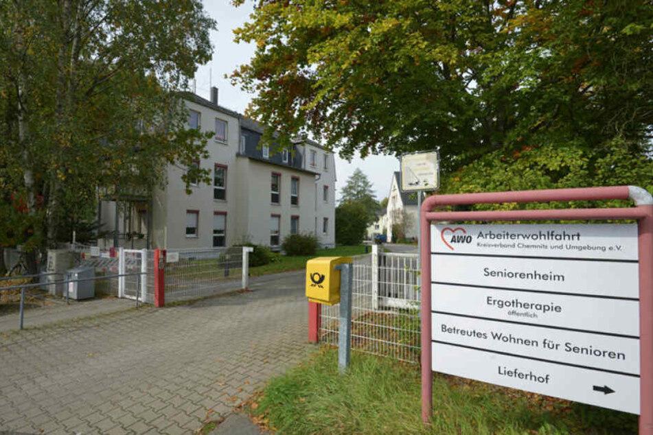 Das Betreute Wohnen der AWO Chemnitz in der Max-Saupe-Straße ist seit Tagen telefonisch nicht erreichbar.