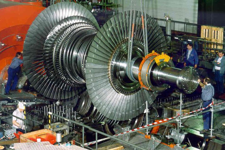 Kurzschluss: Turbinen in Atomkraftwerk abgeschaltet!