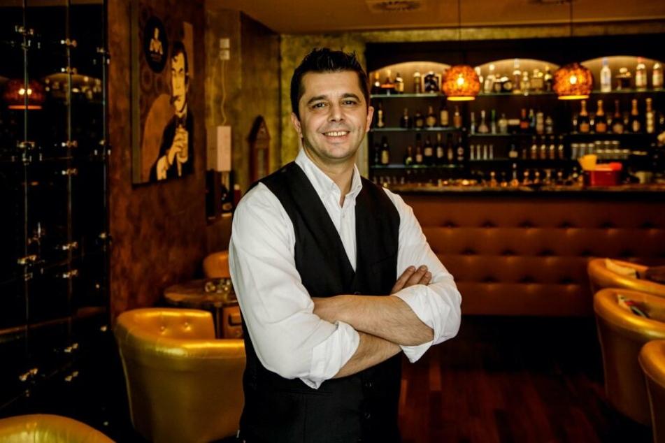 """Gastronom Almir """"Miri"""" Myslimaj (40) freut sich auf sein zweites Lokal."""