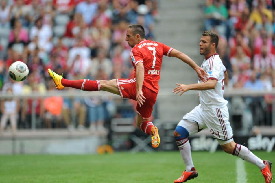 Berkay Dabanli spielte für den 1. FC Nürnberg auch schon gegen Bayern München.