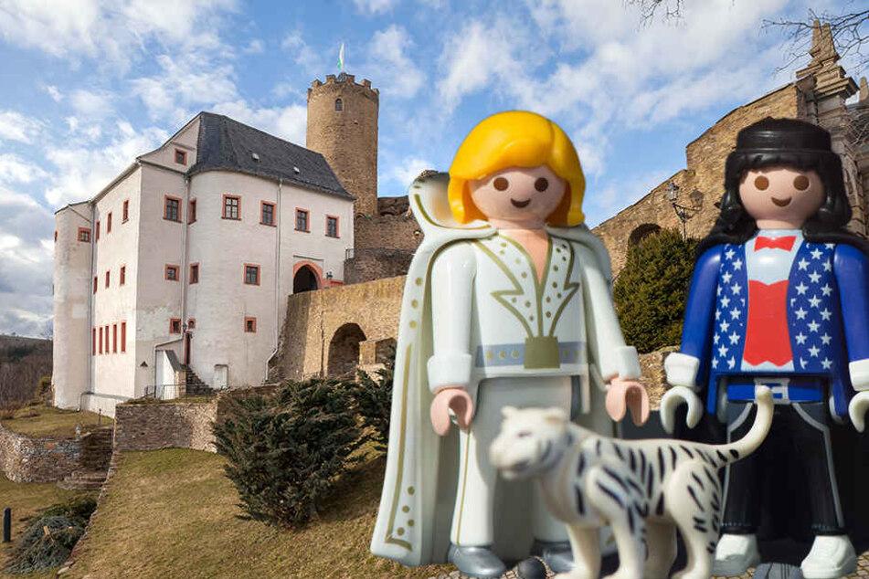 Manege frei: Playmobil macht Zirkus auf Burg Scharfenstein