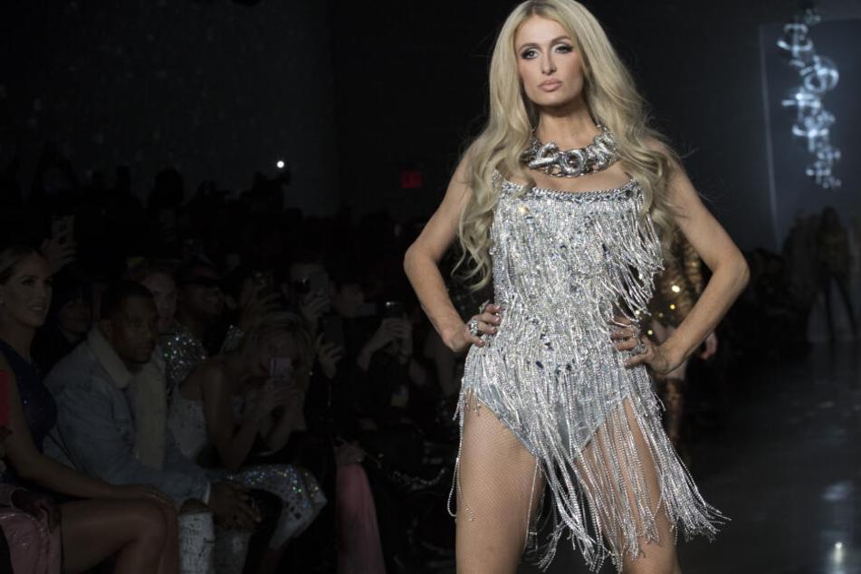 Paris Hilton, hier bei einem Auftritt während der New York Fashion Week im Februar.