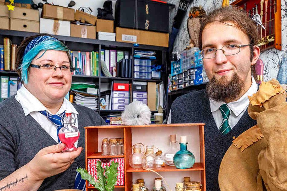 "Claudia & Stefan im ""Harry Potter""-Fieber: Hogwarts liegt mitten in Görlitz"
