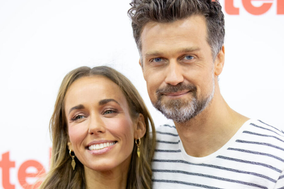 Annemarie Carpendale und ihr Mann Wayne.