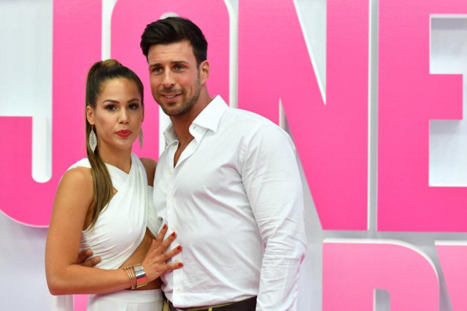 Angelina Heger und ihr Ex-Partner Leonard Freier.